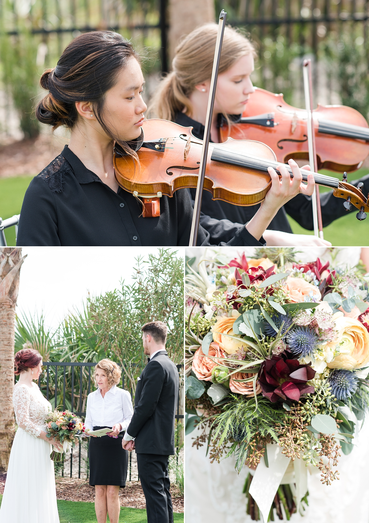 St Augustine Beach-Styled Wedding Session-Bride and Groom-Wedding Ceremony-Wedding Bouquet Inspiration-Musicians.jpg