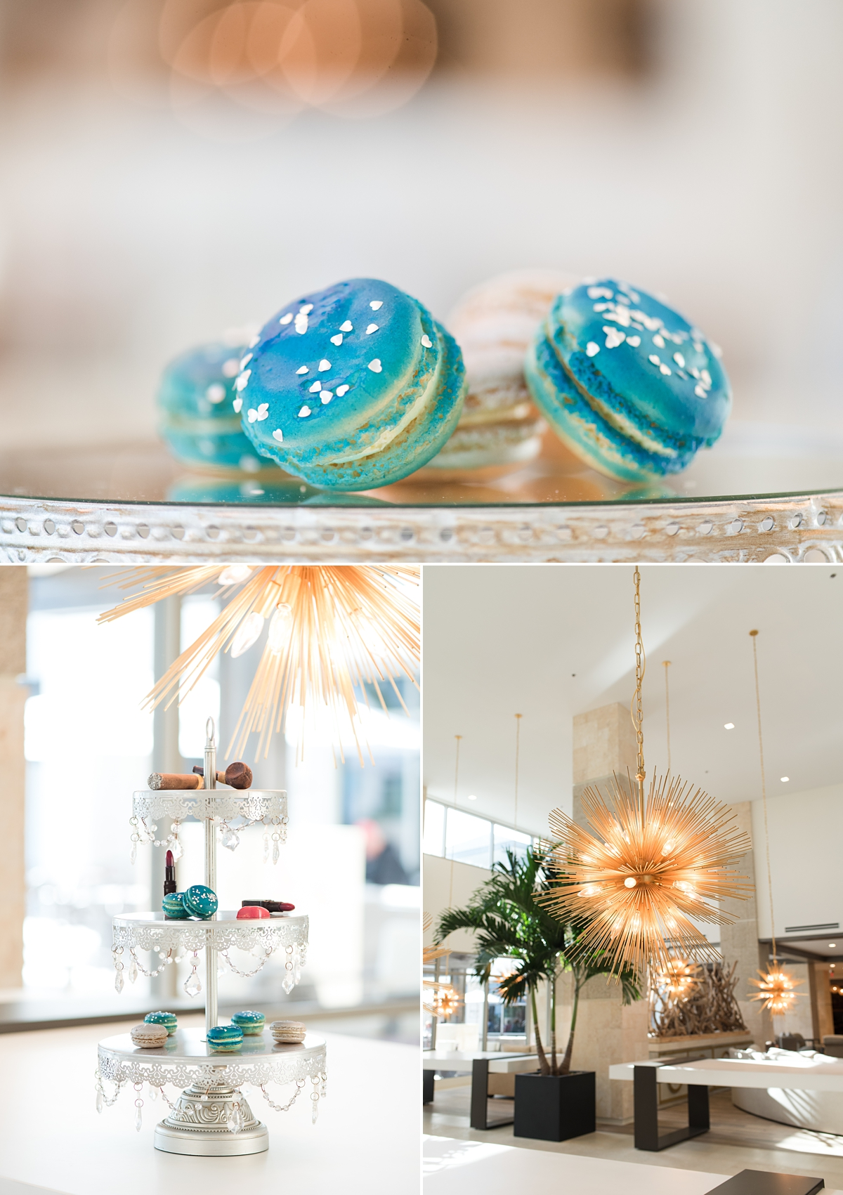 Embassy Suites St Augustine-Styled Wedding Fashion-Wedding Tables-Wedding Favors-Macaroons and Chocolate.jpg