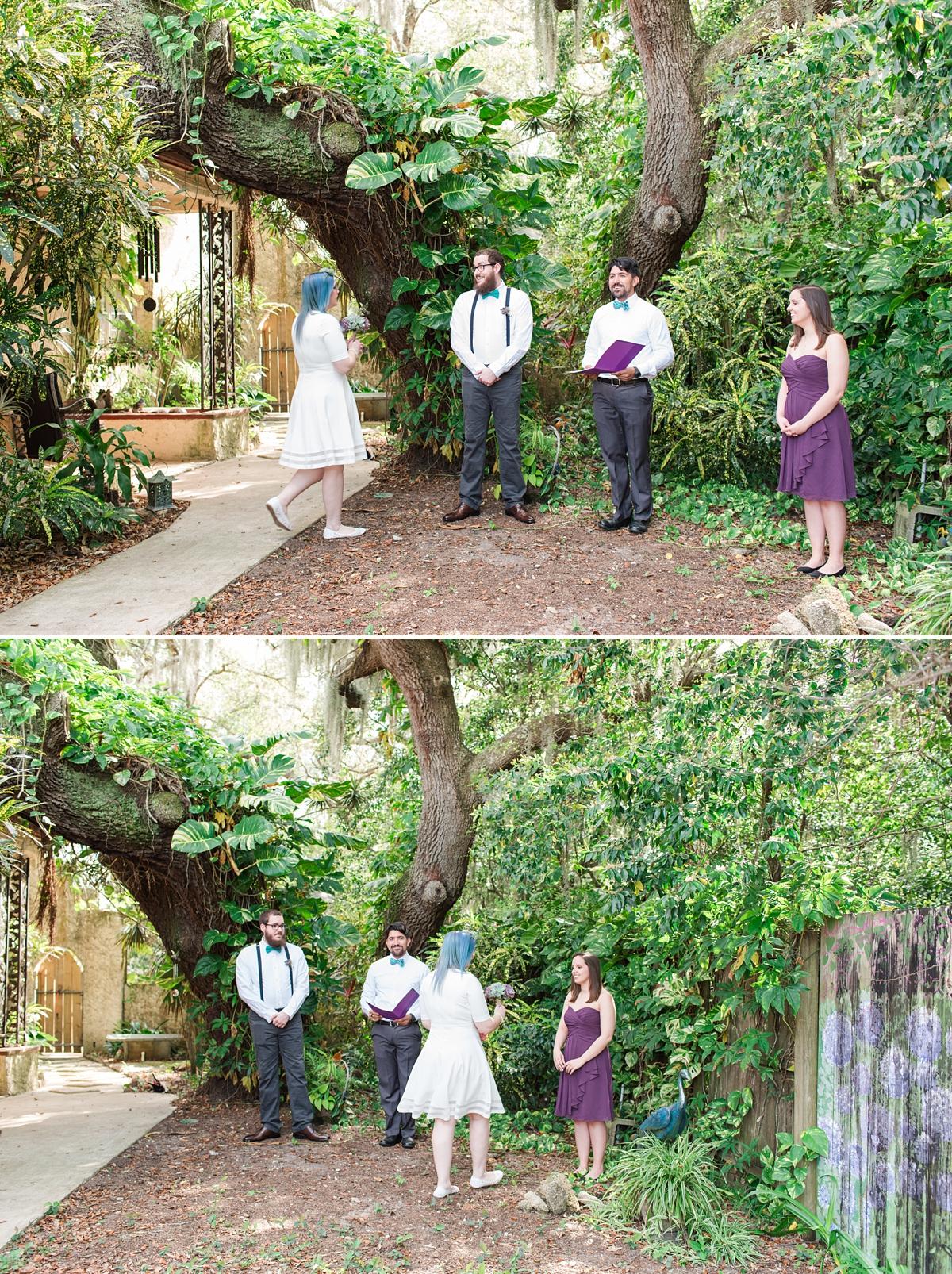 Titusville Florida Wedding_Elopement Photos_Blue Hair_Succulent Bouquet_Elopement Inspiration_5.jpg