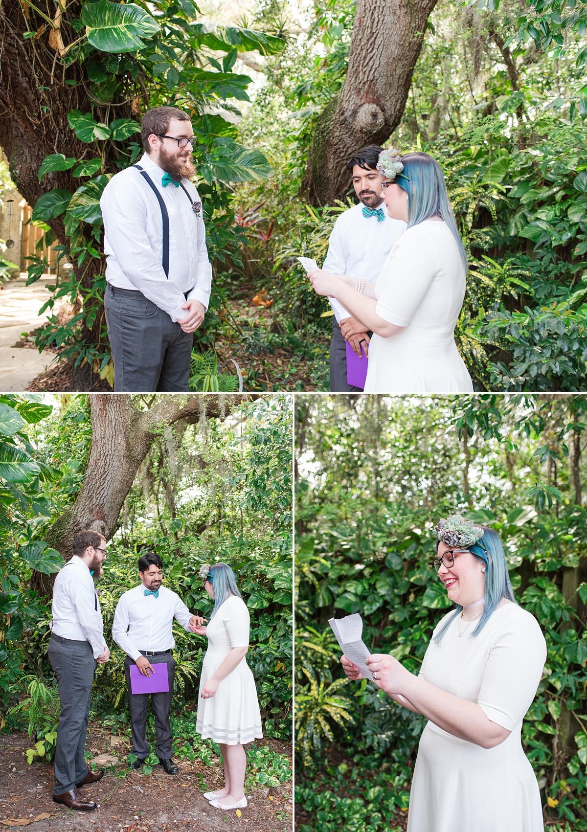 Titusville Florida Wedding_Elopement Photos_Blue Hair_Succulent Bouquet_Elopement Inspiration_10.jpg
