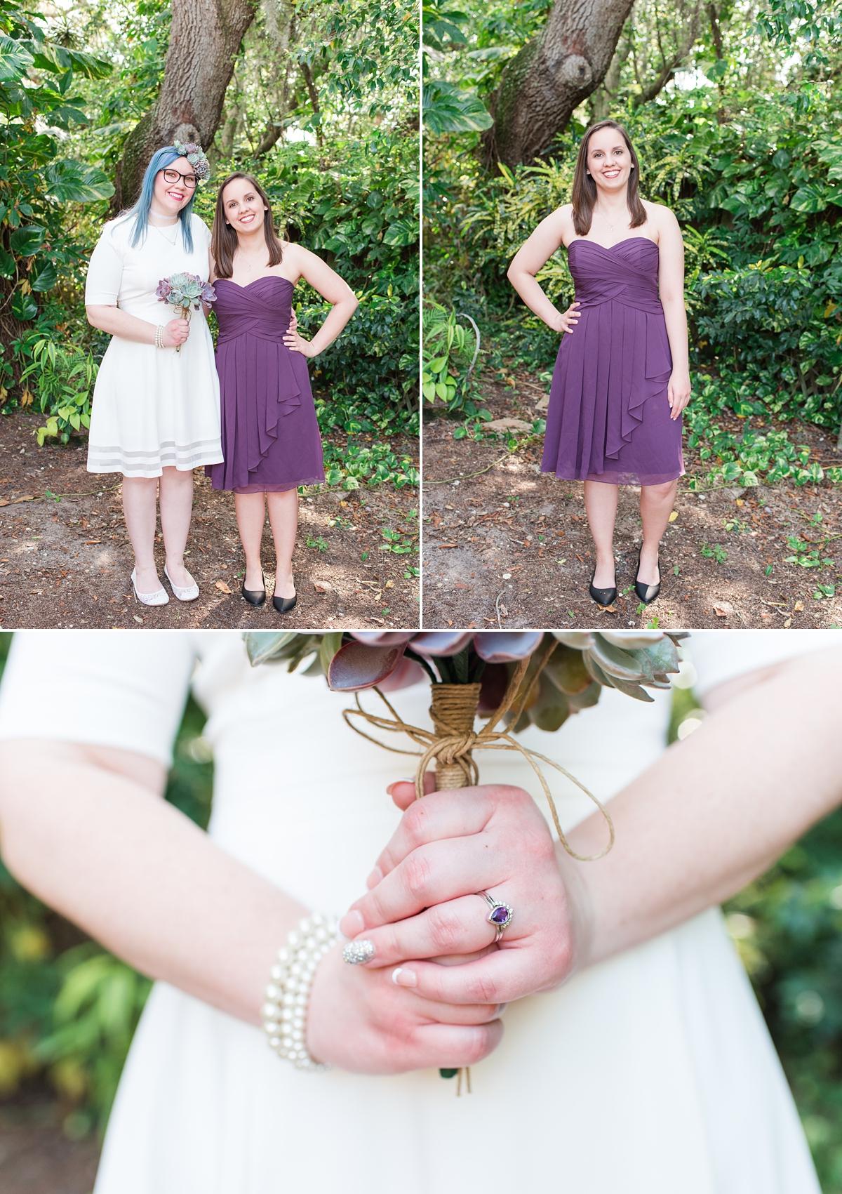 Titusville Florida Wedding_Elopement Photos_Blue Hair_Succulent Bouquet_Elopement Inspiration_15.jpg