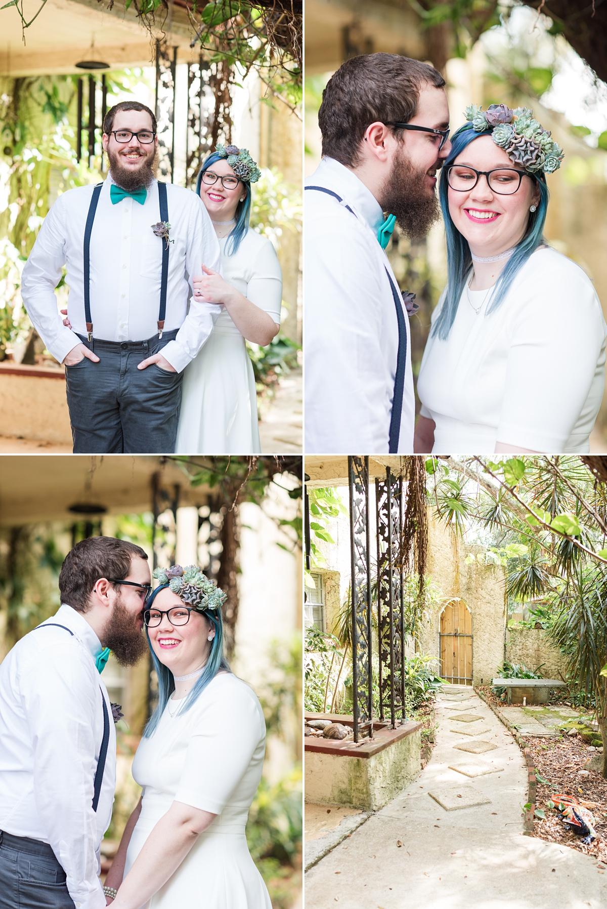 Titusville Florida Wedding_Elopement Photos_Blue Hair_Succulent Bouquet_Elopement Inspiration_20.jpg
