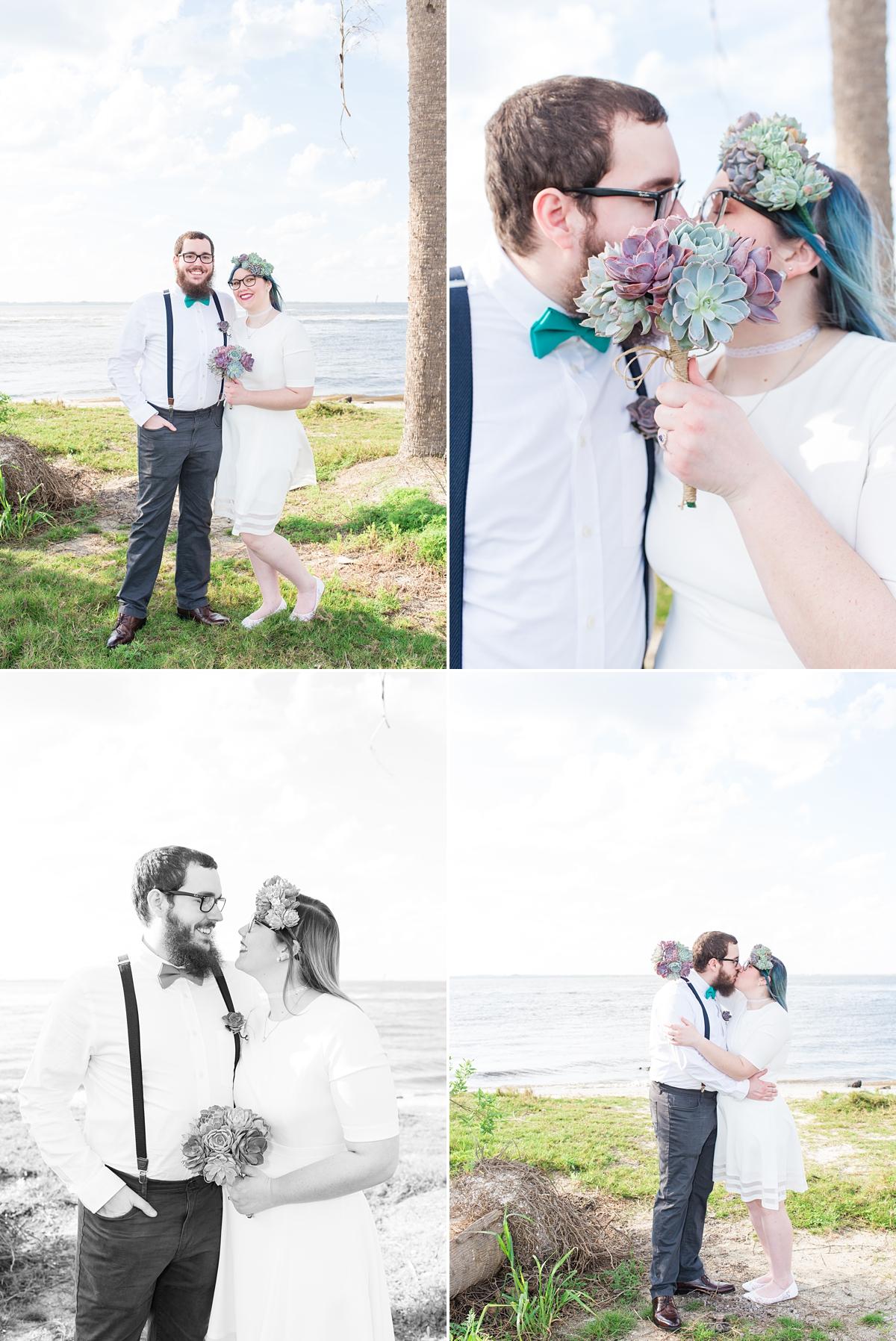 Titusville Florida Wedding_Elopement Photos_Blue Hair_Succulent Bouquet_Elopement Inspiration_24.jpg