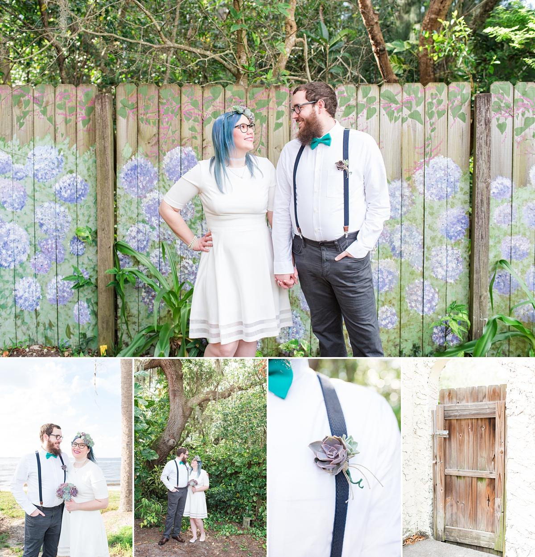 Titusville Florida Wedding_Elopement Photos_Blue Hair_Succulent Bouquet_Elopement Inspiration_1.jpg