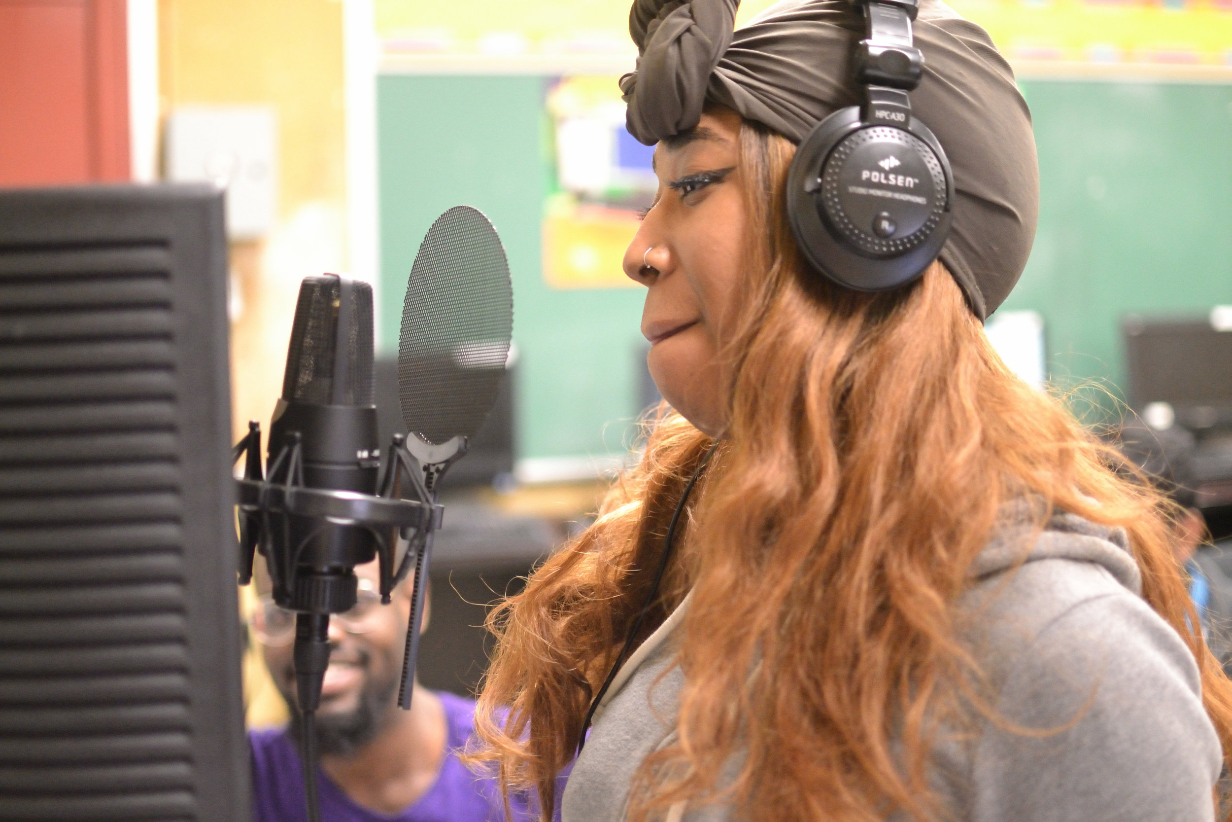 YRAP - Studio Recording Program at Bronx Collegiate Academy