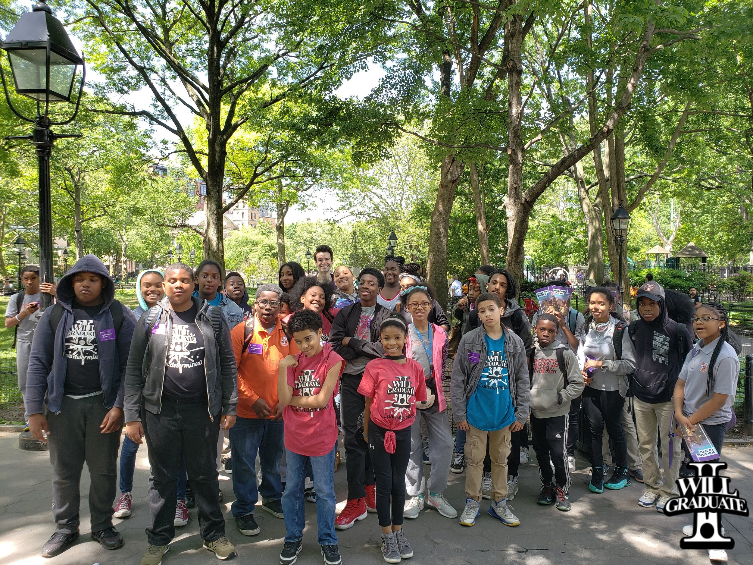 Collaborative Arts Middle School Visits NYU