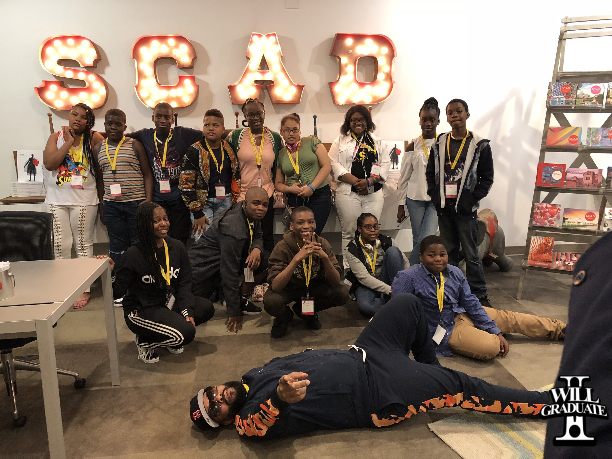 MS 35 Visits SCAD