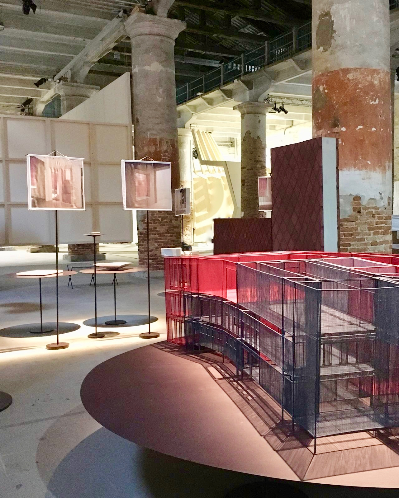 Photo: overview presentation at the Arsenale, Francesca Torzo