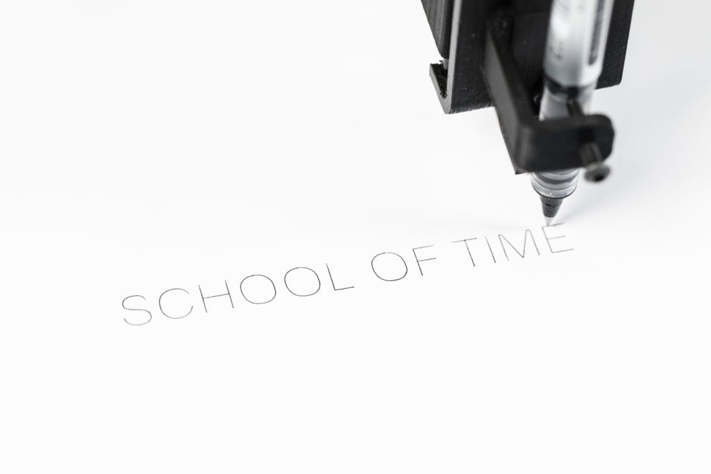 Time School or a School of Time