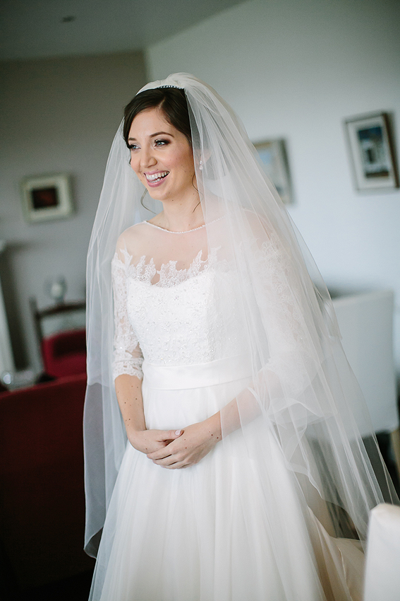 Katie's beautiful dress is from  Say I Do Midleton