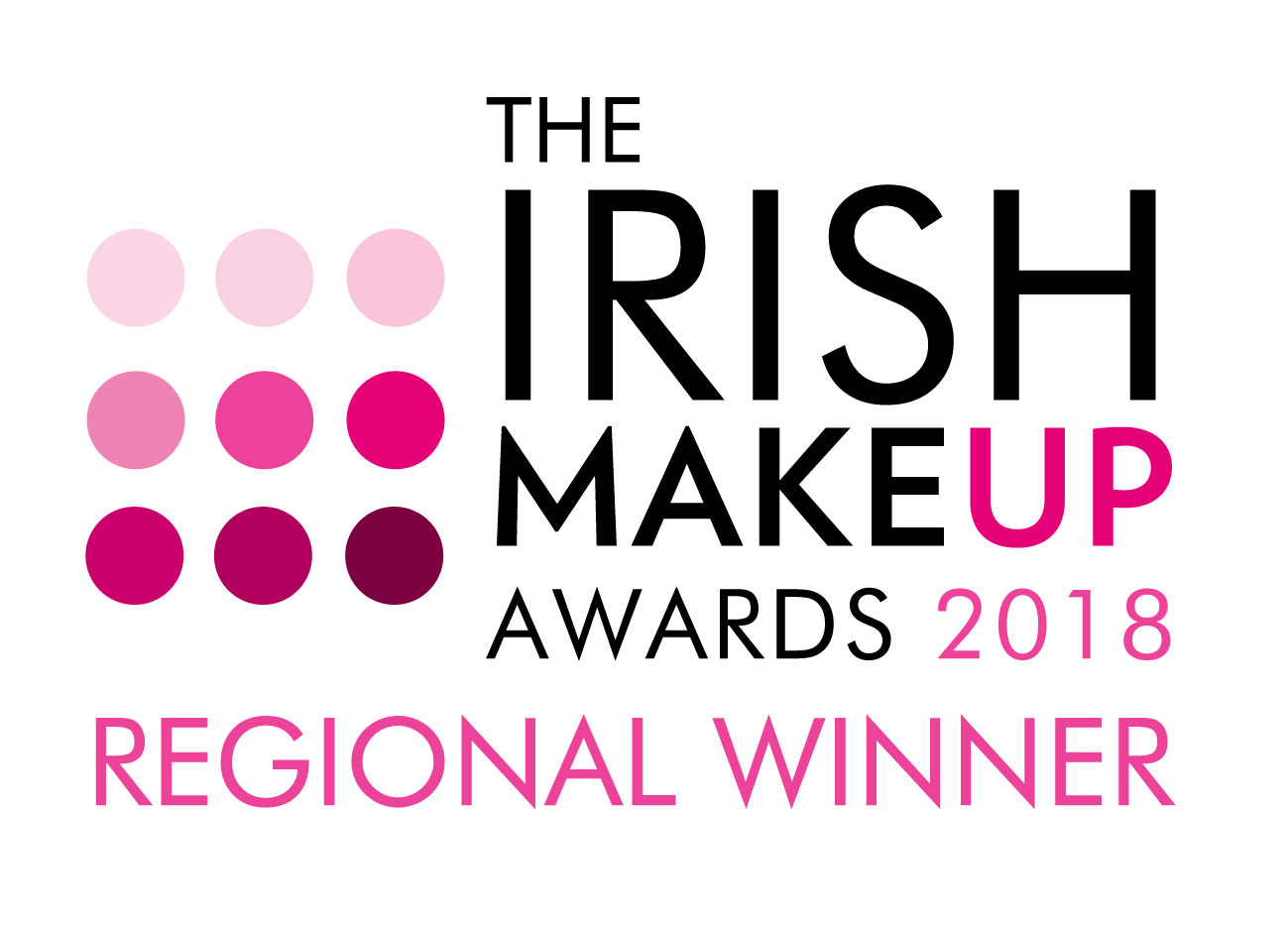 Regional Winner Logo ? Irish Makeup Awards 2018-01.jpg
