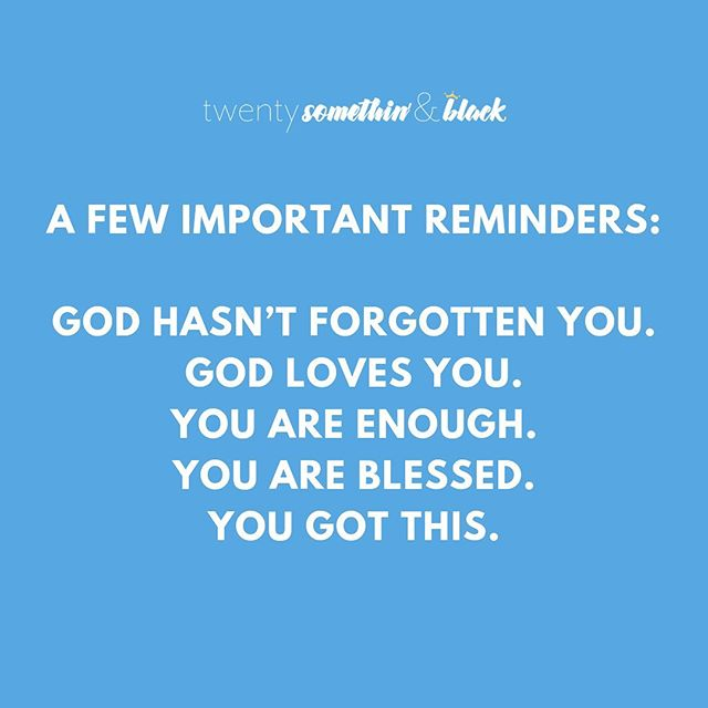 Know we're on a break, but felt like someone needed this reminder. Don't ever think God doesn't hear your prayers because He does. He's listening and He loves you. ✨