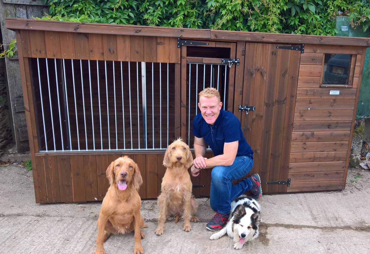 Adam Henson with his new Chappell