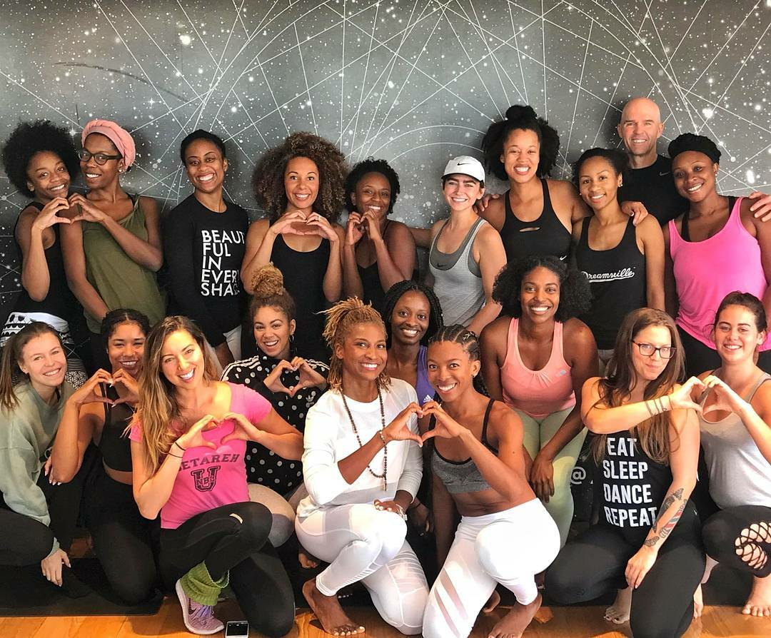 Get Loved Up Training at Alo Yoga
