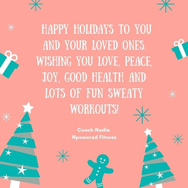 Good Health is one of the most beautiful gifts of all. Happy Holidays to you and your loved ones.