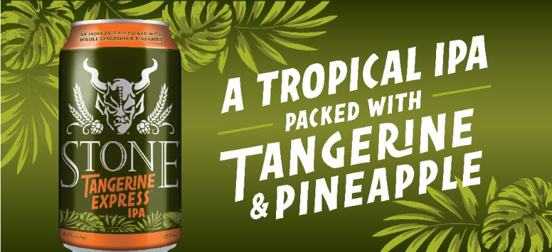 Stone Tangerine Express IPA — The Northwest Beer Guide