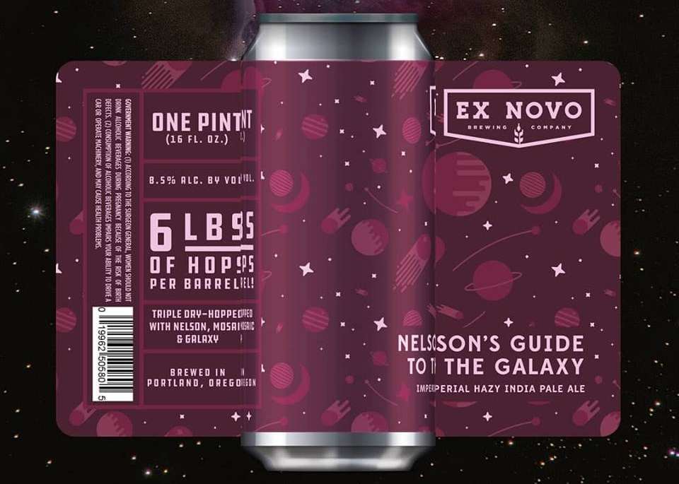 image sourced from Ex Novo Brewing's  Facebook  page.