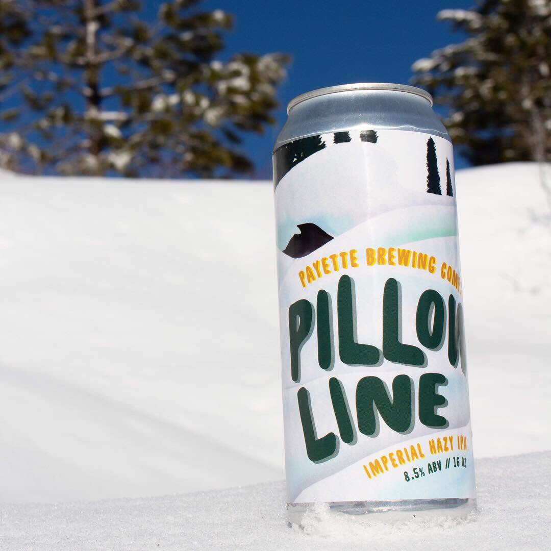 Pillow Line . Sourced from Payette Brewing Company