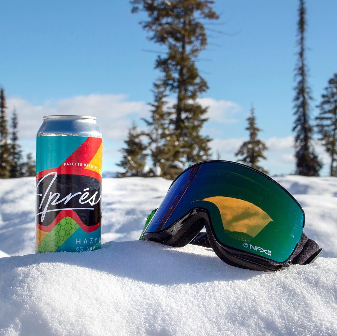 Aprés . Sourced from Payette Brewing Company