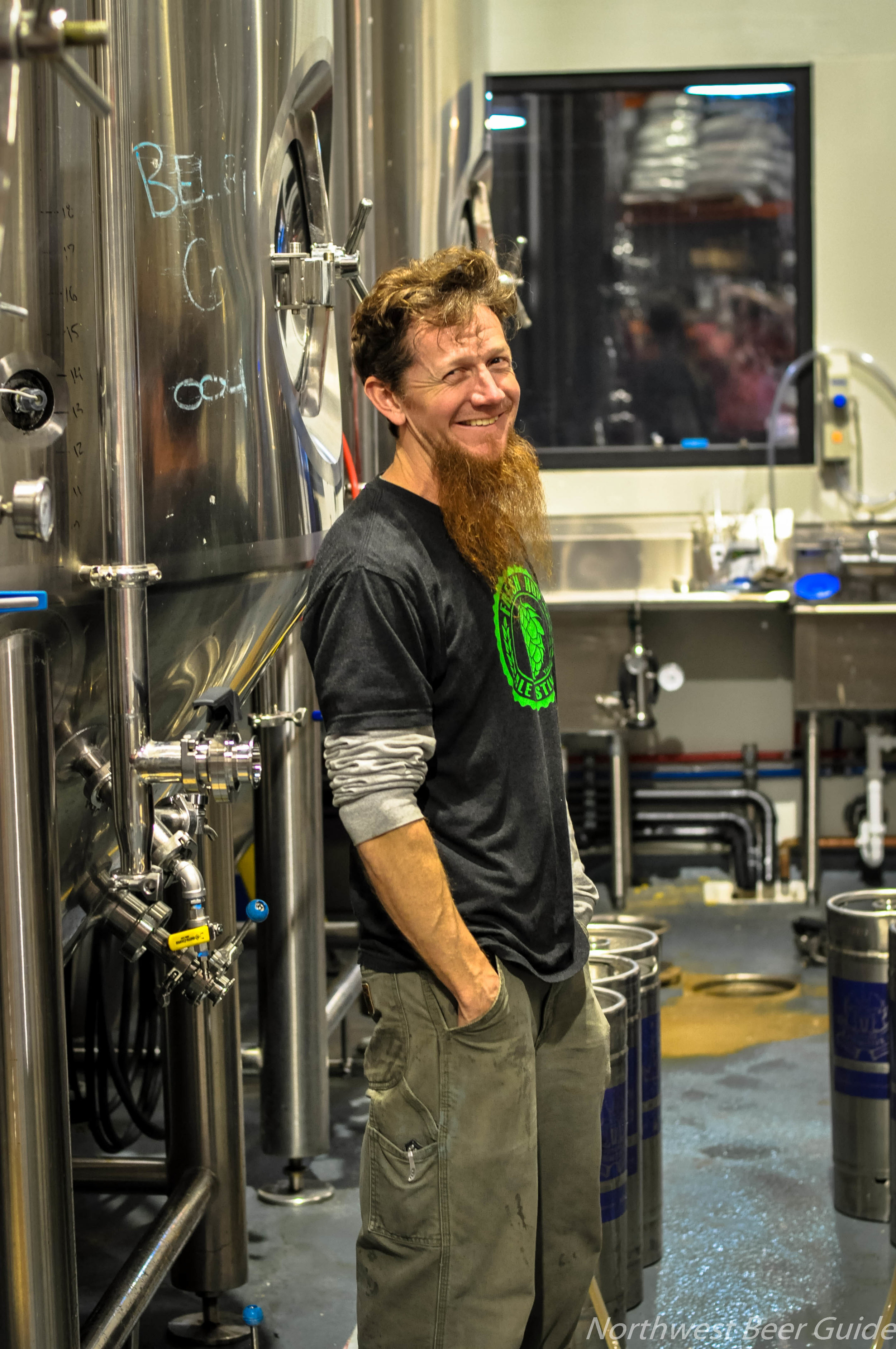Co-Founder Kevin Watson, Head Brewer at Future Primitive Brewing Company