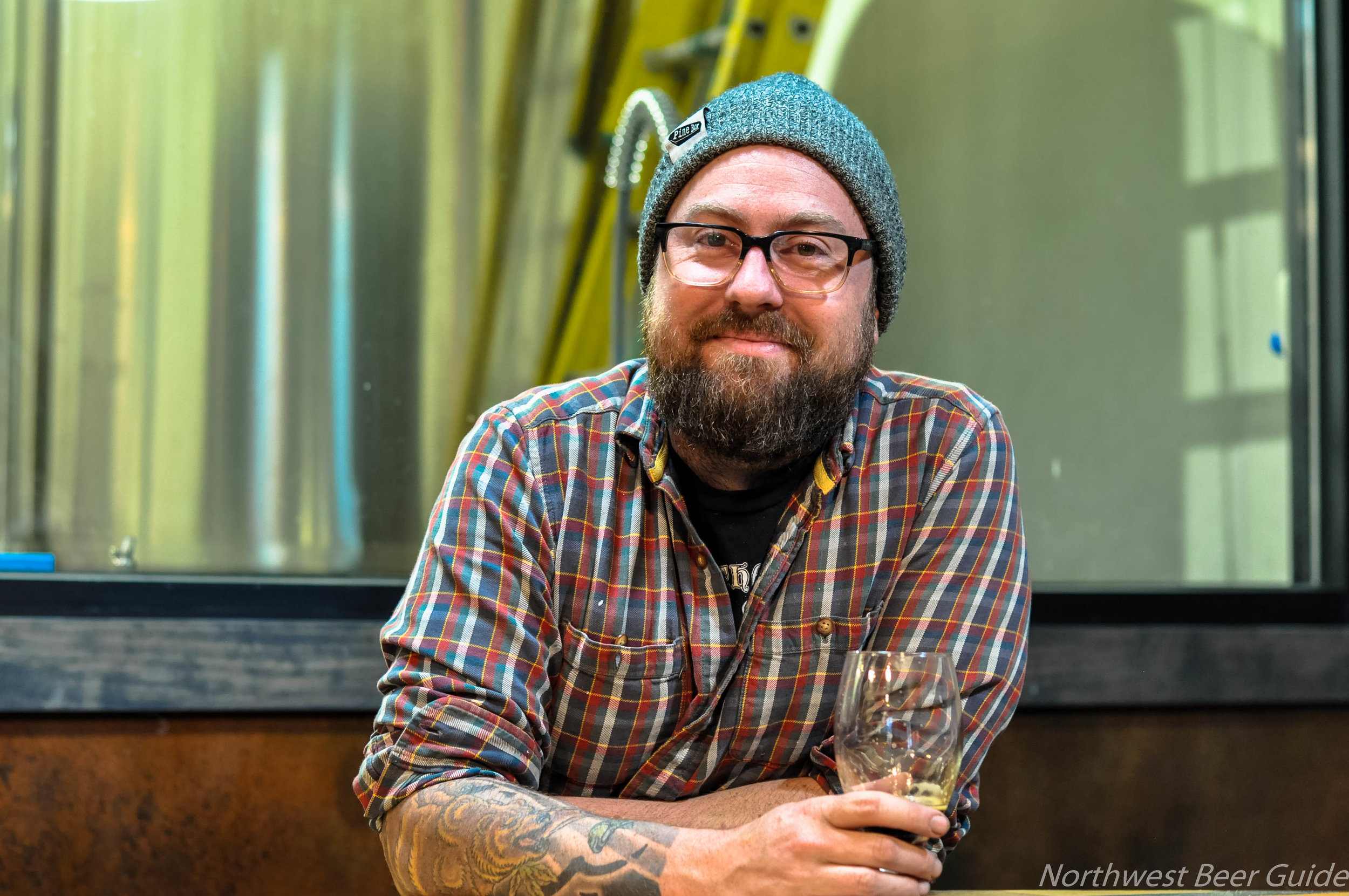 Co-Founder  Ian Roberts, Bar Manager at Future Primitive Brewing Company