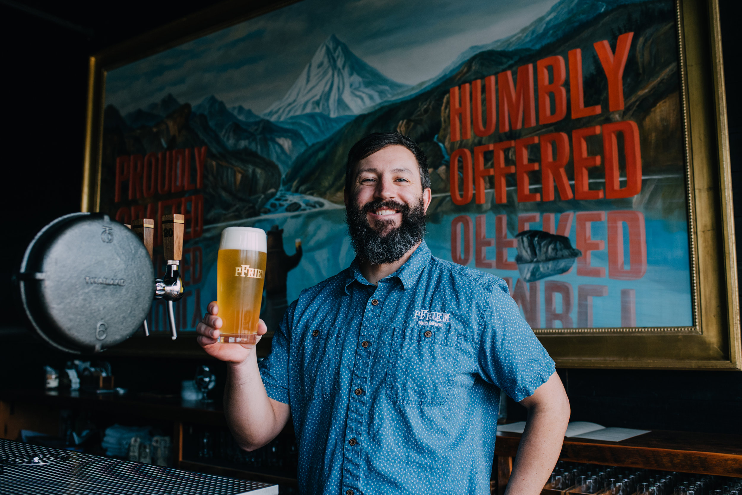 image of co-owner, Josh Pfriem, courtesy pFriem Family Brewers