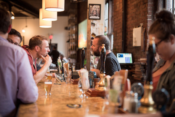 2015 Vancouver Craft Beer Week Hoppapalooza at the Alibi Room. Photo by Two Peas Photography.