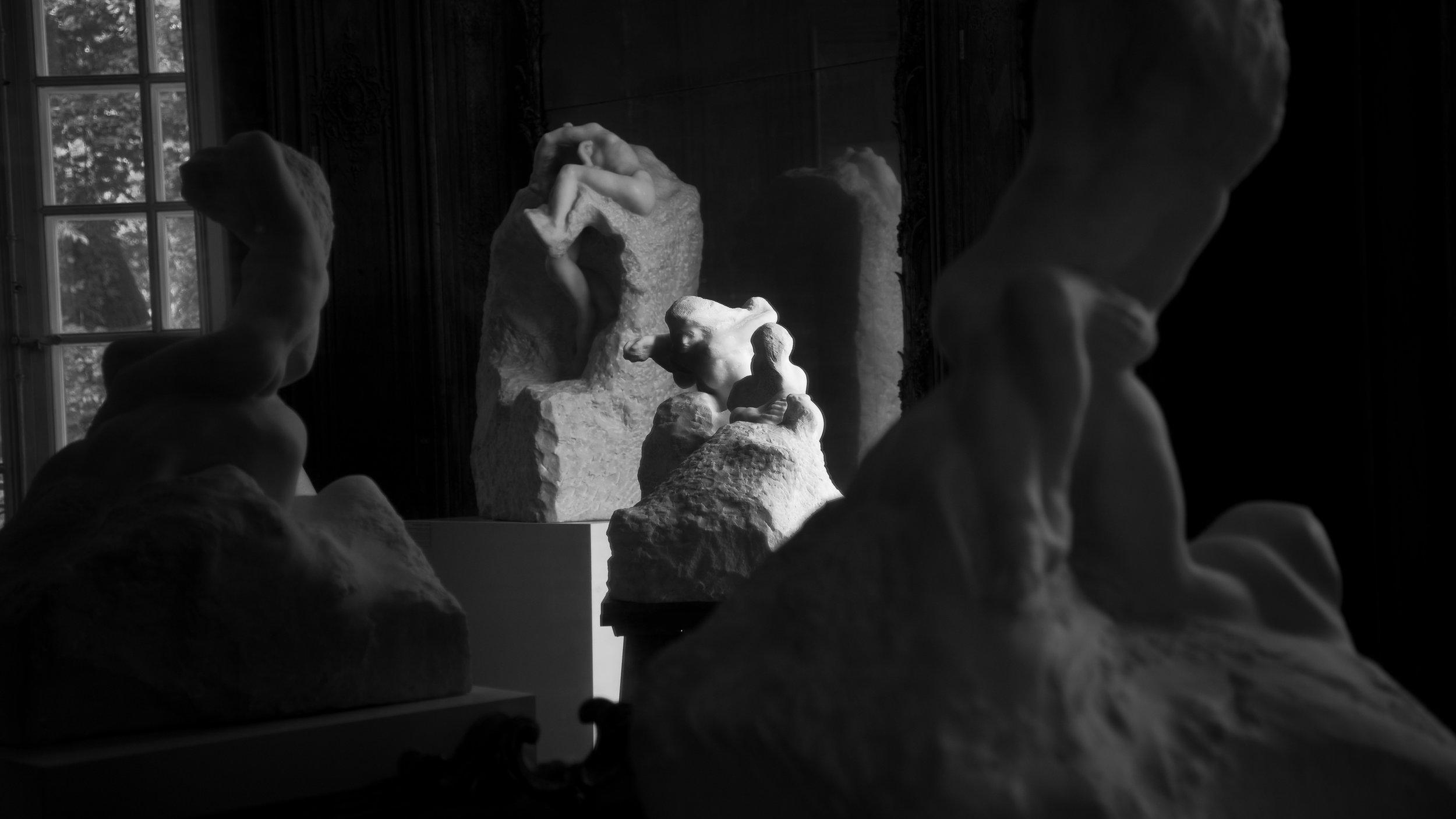 Rodin Sculptures, Paris