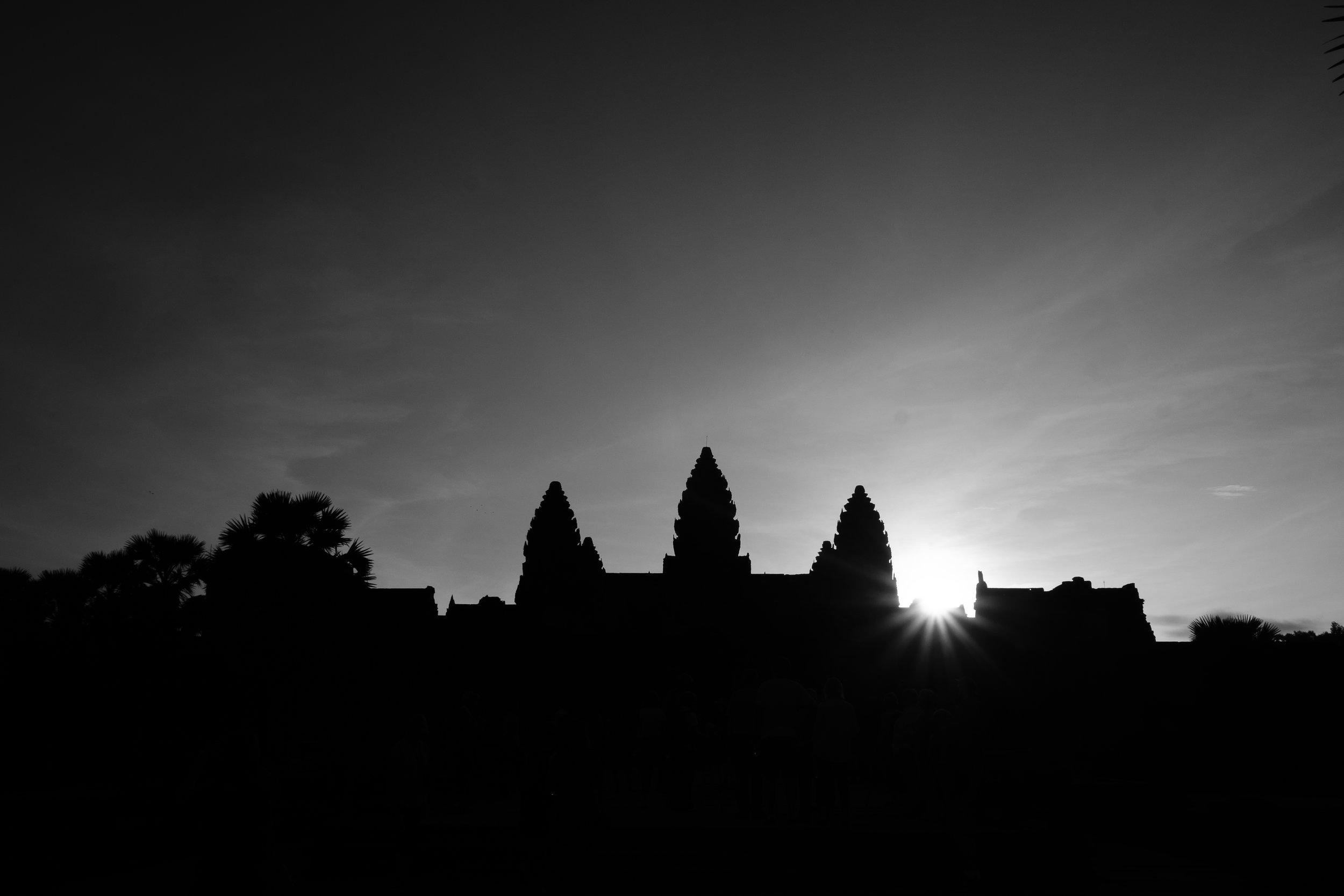 Angor Wat Sunrise