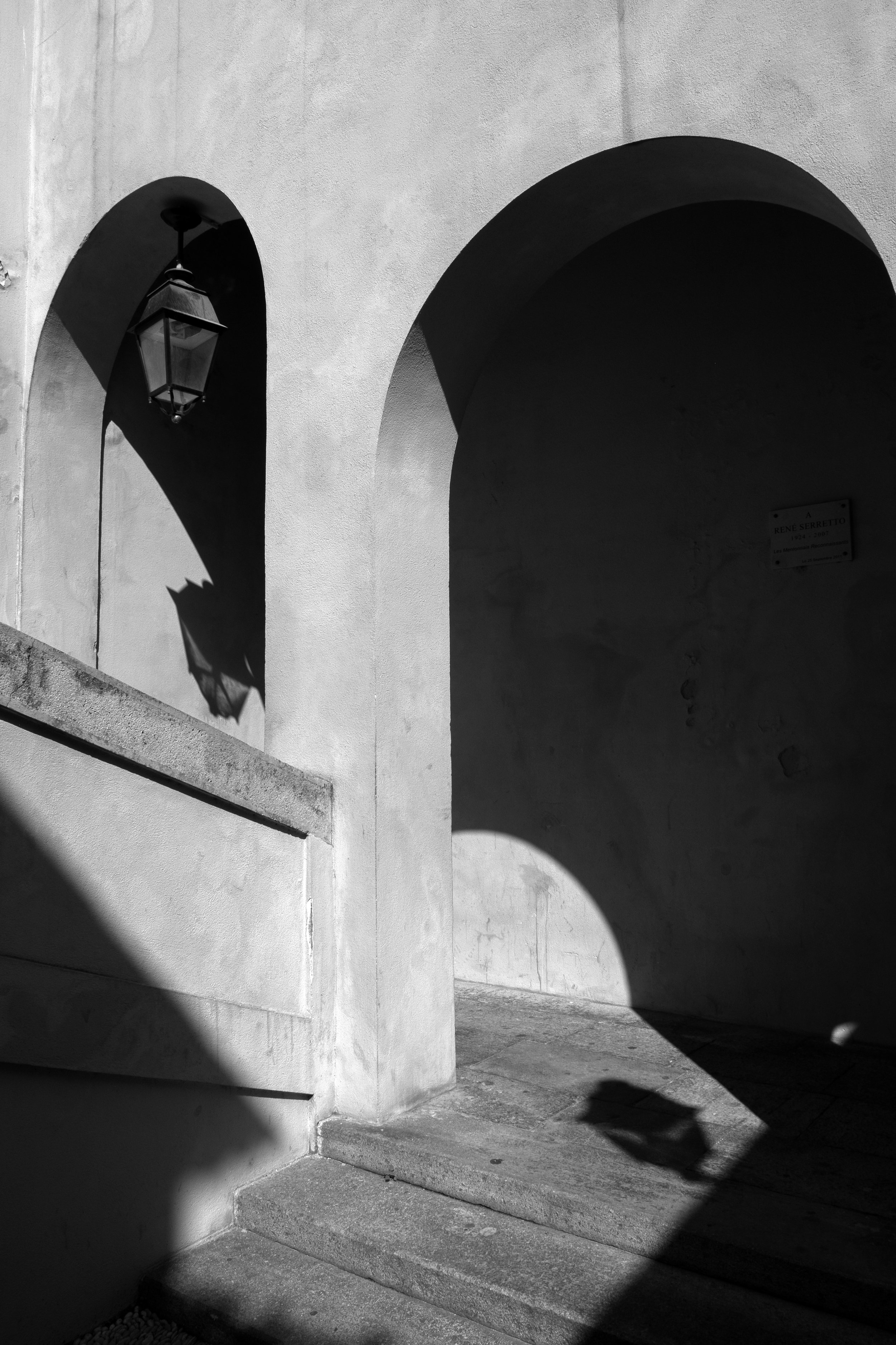 Shadow Arches , Menton