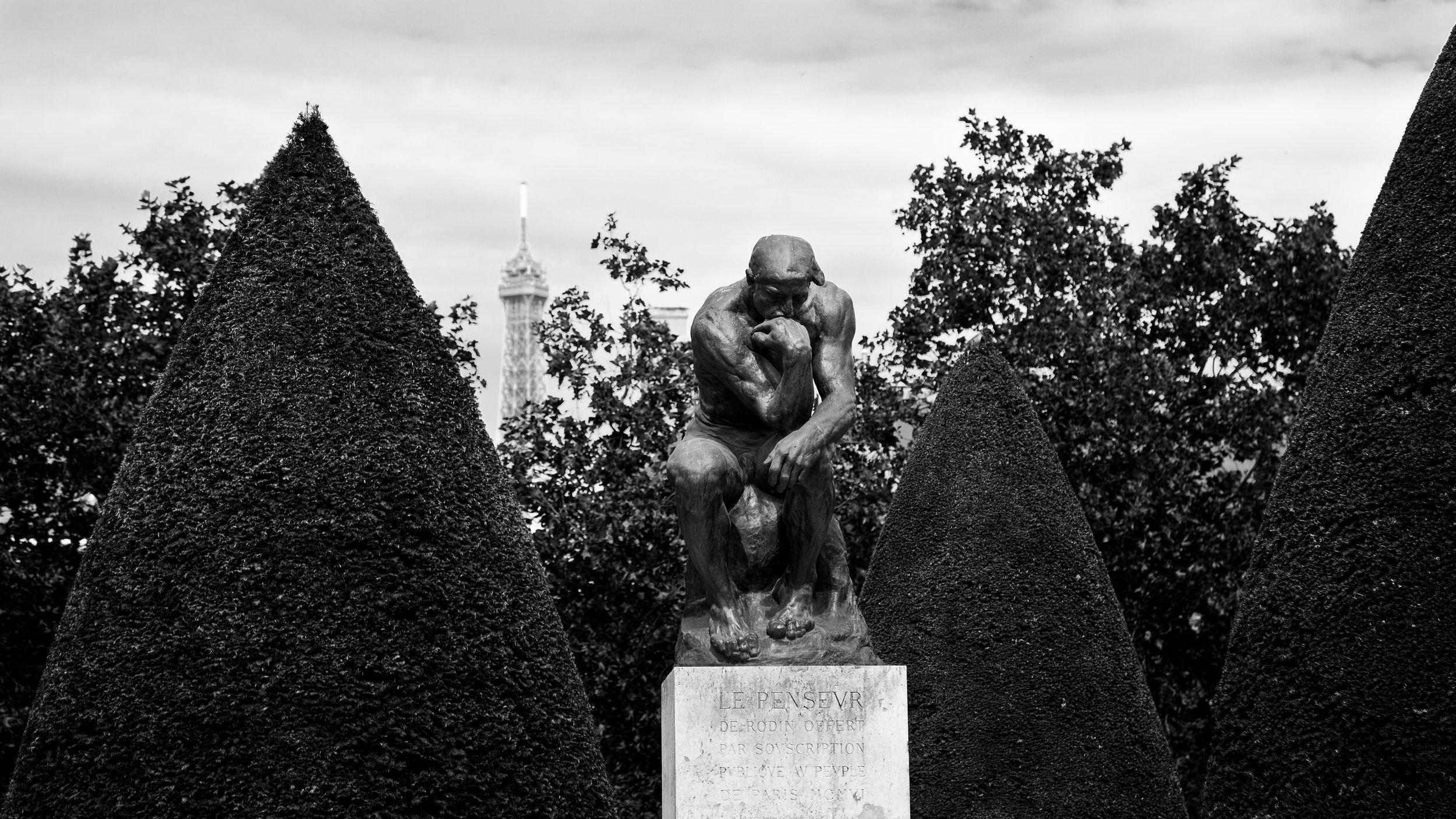 Le Penseur, Paris