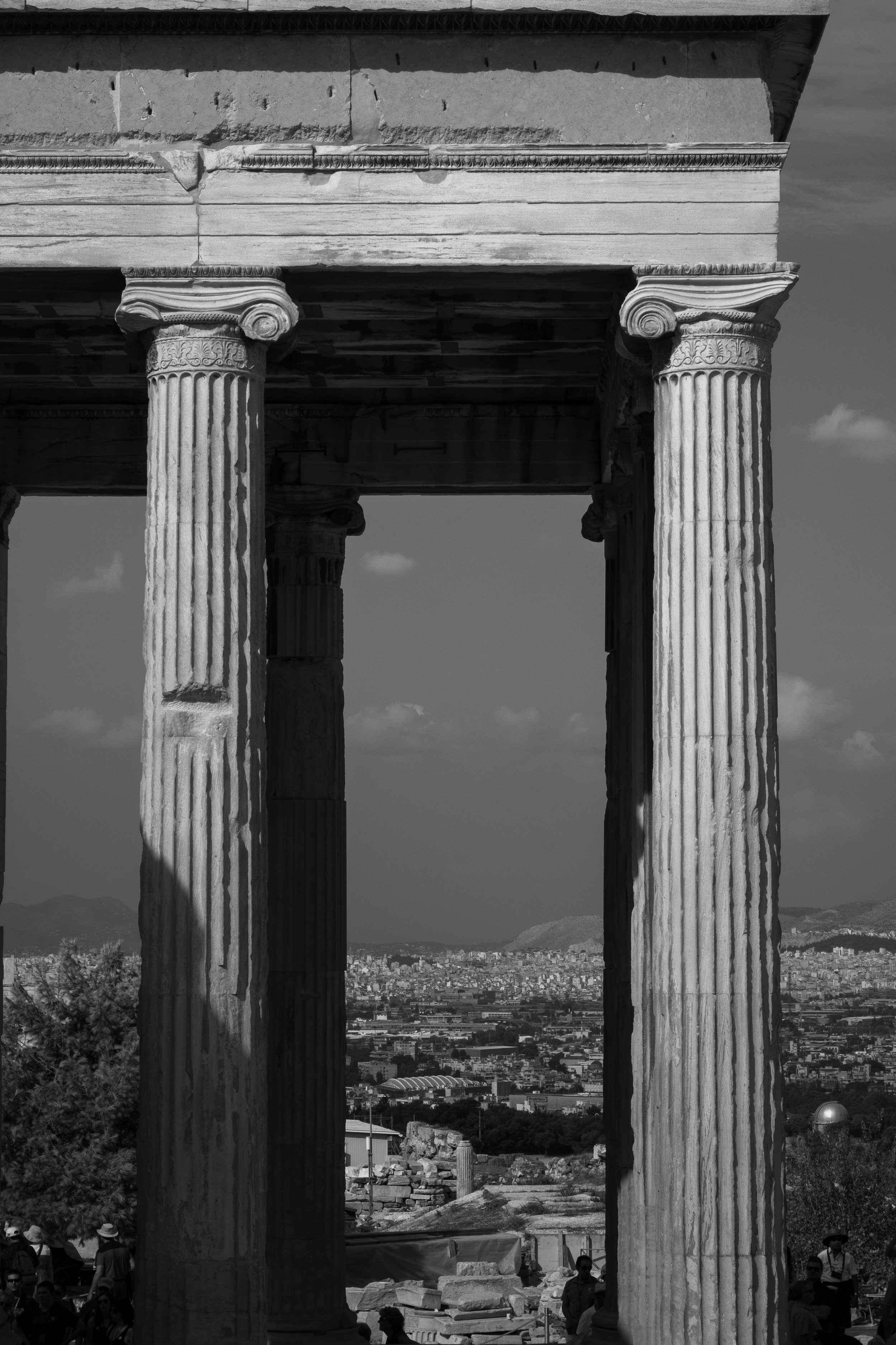 Acropolis Columns , Athens