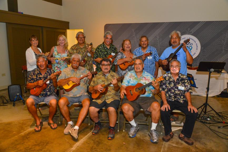 Servco 100th Year Anniversary - Fender & 'Ukulele Guild of Hawai'i @ Bishop Museum, September 19, 2019