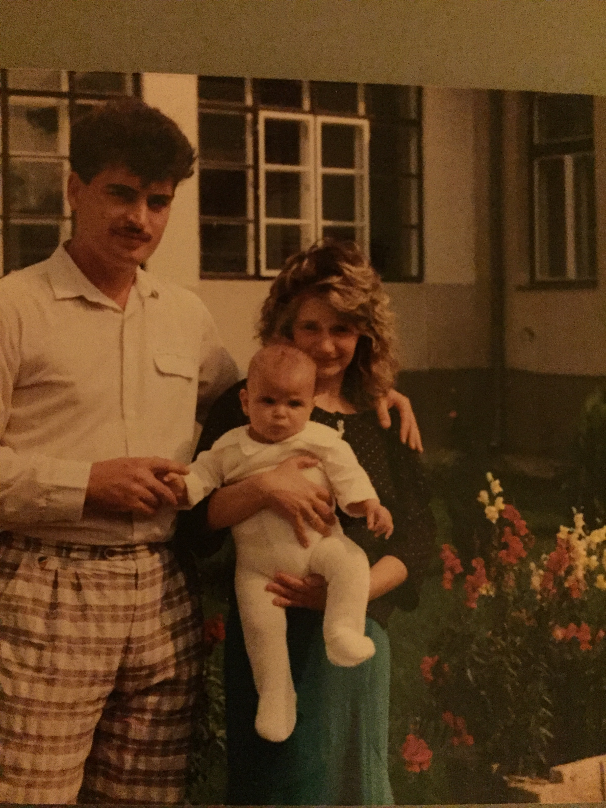 My Dad, Mom and me.