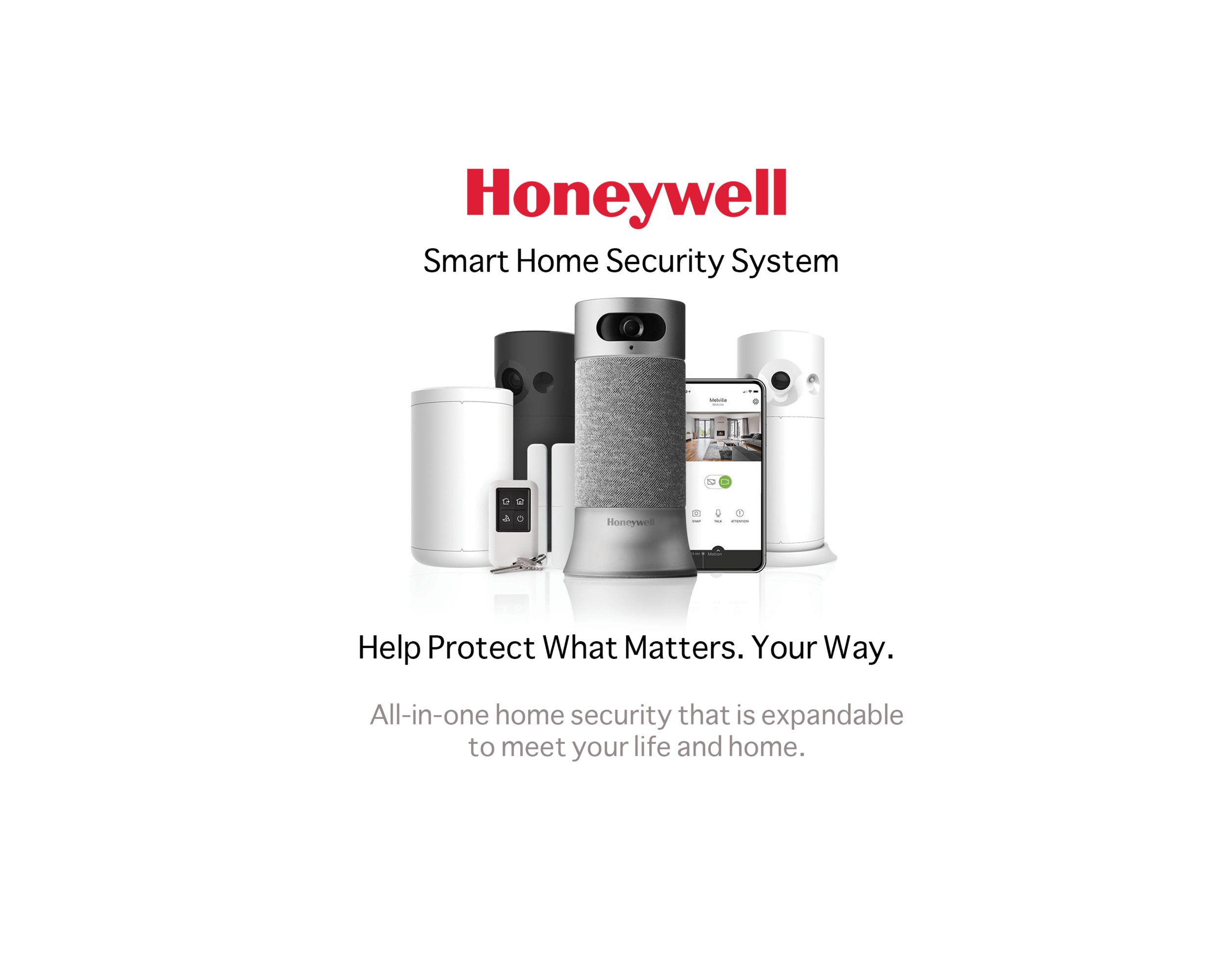 Honeywell Smart Home Security System — Jackson Control