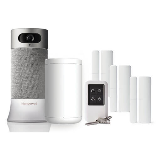 Medium Home Kit   Camera Base Station, 3 Access Sensors, 1 Motion Sensor, Key Fob