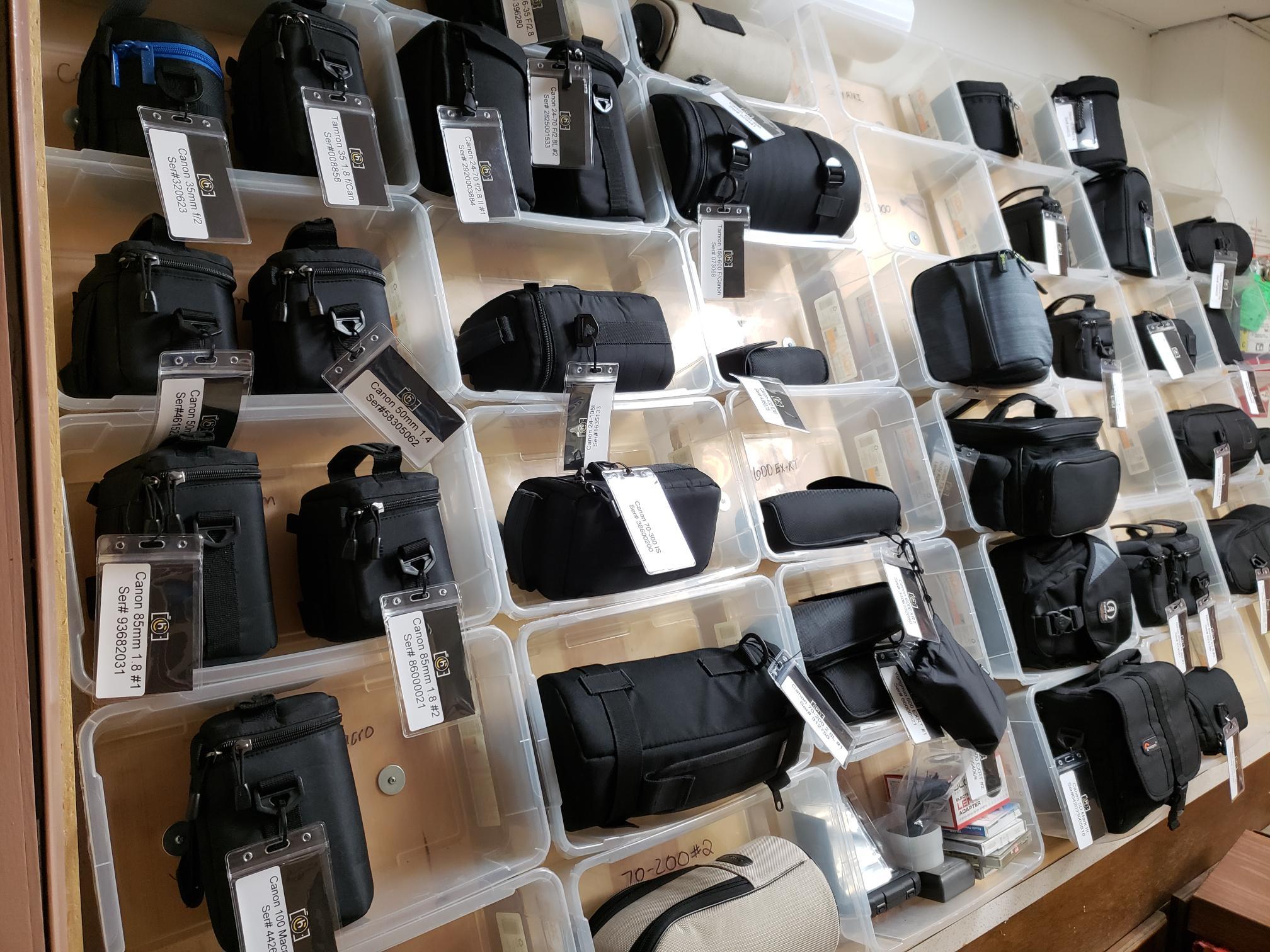 Camera, Lens & Flash Rentals