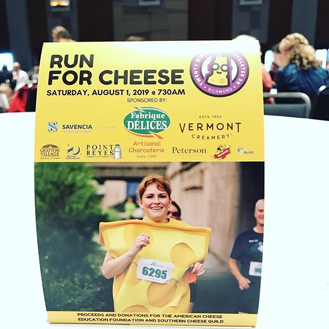 Time to run for cheese! Saturday, August 1. Visit @thecheeseletes for more info. #prizesforall