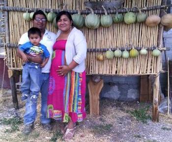 Glenda, Manuel, and Elias Cruz