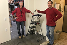 san clemente office - construction - Scott & Dave painting.png