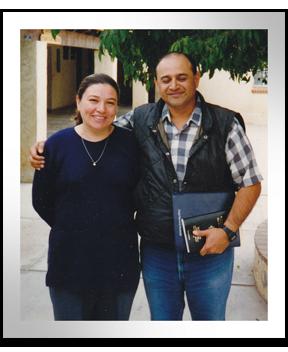 Tito with his wife, Rosario