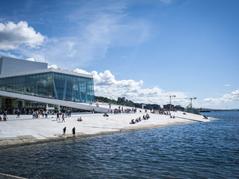 Operaen, Oslo. Foto: VisitOSLO/Thomas Johannessen