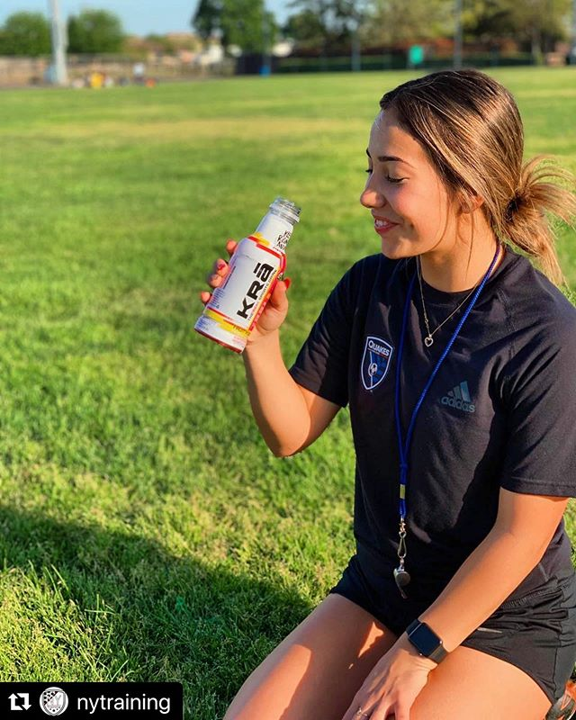"Nothing says SPRING like soccer and KRā! Look for us in your local @safeway  #NorCal today, and tell us how you're going #junkfreeme! #Repost @nytraining with @make_repost ・・・ ""Have you ever found yourself feeling parched after a game in the heat? I have found a solution to this problem and it's KRĀ , the real sports drink! As summer approaches make sure to go to @drinkkra or to your local Safeway!""⚽️ - @xoxo.alyssaa . . . #nytraining #challenge #soccer #drills #summer #riverbank #norcal #norcalsoccer #modesto #recreationalsoccer #competitive #futbol #recreation #coach  #soccercoach #soccergirl #soccermom #soccermoms #soccerboots #soccerboys #soccerlife #fitness #entrepreneur #art #graphicdesign #graphics #⚽️ #💥"