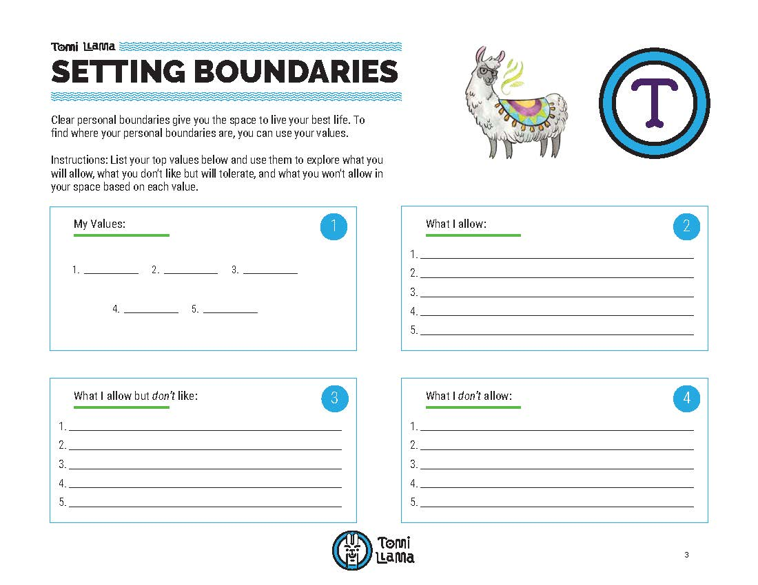 5 Crazy In Depth Steps For Setting Boundaries Worksheets