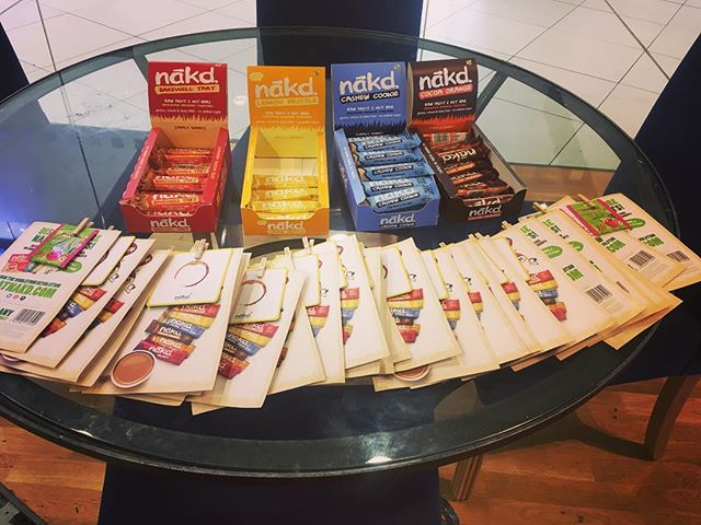 Thank you to @nakdwholefoods for our free samples of these delicious bars 😋 #nakd #vegantreat