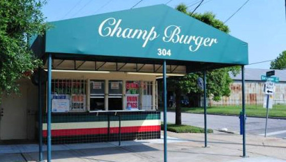 Located at: 304 Sampson St.   Champ Burger is the perfect place to grab some burgers and fries and is only a 6 minute walk from HQ.