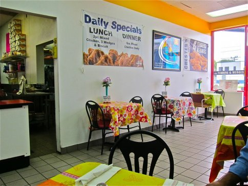 LOCATED AT:   3326 Canal St.inside the texaco store   Homemade mexican food with exeptional guacomole and breakfast tacos right across the street from hq.