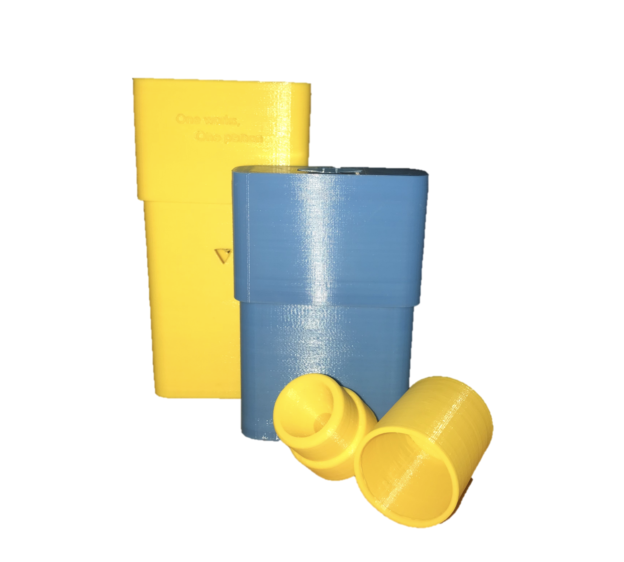 Our sharps bin & attachment... - come to a combined cost of €3.70; with the personal bin costing €2.92 to fabricate and the sharps attachment and lock only costing €0.78.