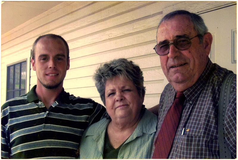 Dee with her husband, Brenson, and grandson, Brandon.