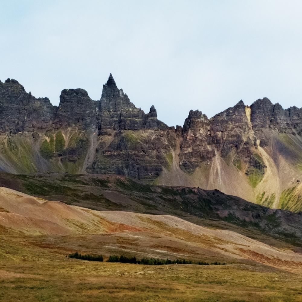 Jagged Peaks, Iceland